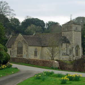 St Michael and St Martin's Church, Eastleach St Martin, Gloucestershire