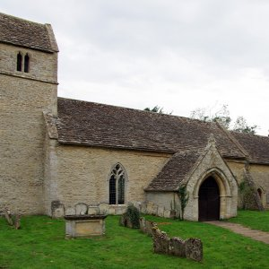 St Andrew's Church, Eastleach Turville, Gloucestershire