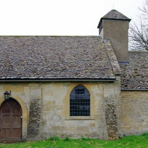 St Mary's Church, Little Washbourne, Gloucestershire