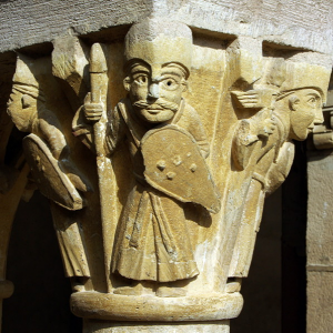 Conques, Abbey-Church of Saint-Foy - cloister capital