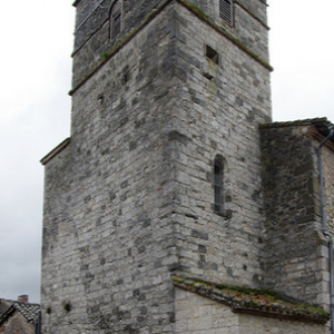 Castelnau-de-Montmiral, church