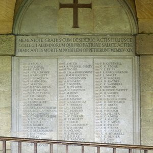 WW1 Memorial, Worcester College, Oxford