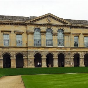 Worcester College Chapel. Oxford