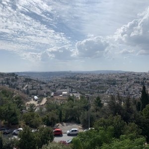 View from Mount Scopus